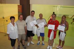 Edutax jótékonysági amatőr squash verseny